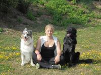 unser Agility Weltmeisterschafts-Team Pam und ihre Hunde
