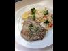 Gegrilltes Thunfischfilet