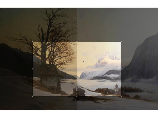 Vorschau - Restaurierung Gemälde Gregor Eder