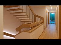 Einfamilienhaus Treppe Stiege LED Design, ADLHART Architekten