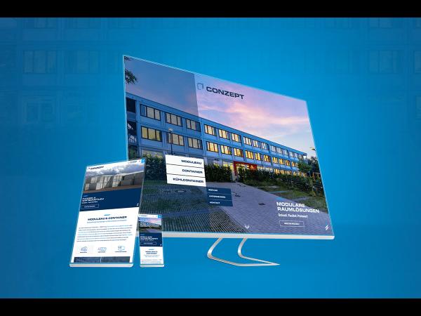 Vorschau - Design & Funktion: Neue Website für Generalanbieter von Containern und Modulbau-Spezialisten