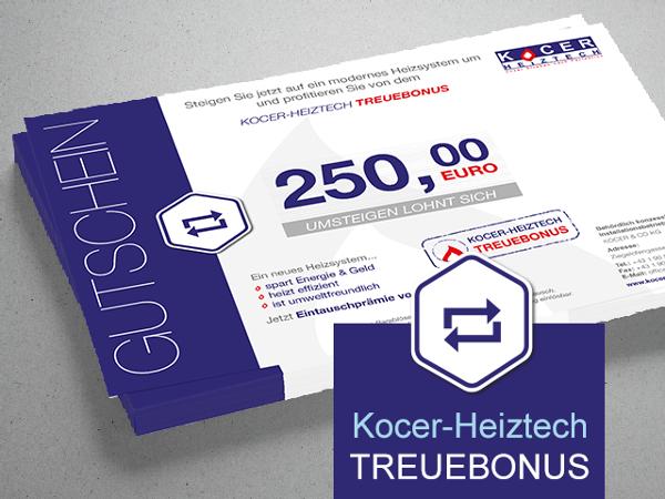 Jetzt € 250,- sparen beim Umstieg auf ein neues Heizsystem!