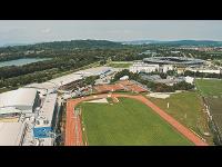 Luftaufnahme vom SPORT.ZENTRUM.Niederösterreich