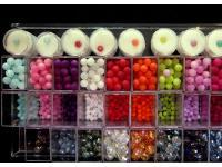 große Auswahl an verschiedensten Perlen!