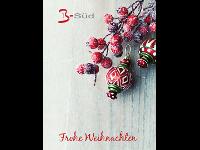 Weihnachtskarte Frontseite