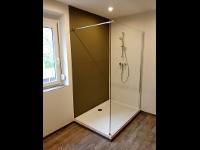 Badezimmer Renovierung Wanne Raus - Dusche Rein