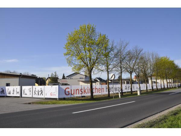 Zaunbanner Bauhof Gunskirchen