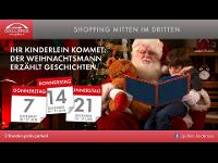 Weihnachtsmann in der Galleria!