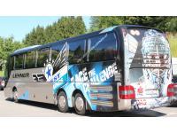 Bus der Black Wings Linz