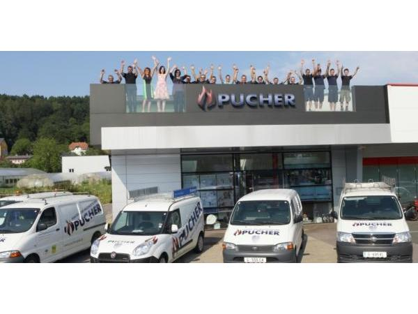 Vorschau - das Team der Firma Pucher