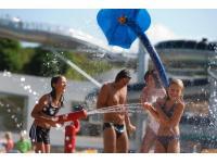 Aqua Splash Pad im Freien