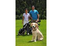 Golf mit Hund