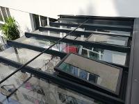 Terrassendach mit Dachlüfter