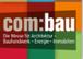 Wir sind auf der com:bau Messe 2017 - Halle 13