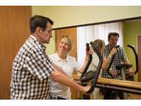 Physiotherapie durch eigene Therapeutin im Haus!