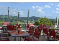 Gastgarten mit Panorama Ausblick