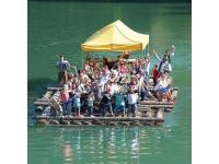Floßfahrt bei Floß & Co