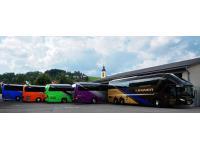 Reisen mit einer der modernsten Busflotten Österreichs