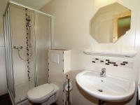 Badezimmer der neu eingerichteten Ferienwohnung