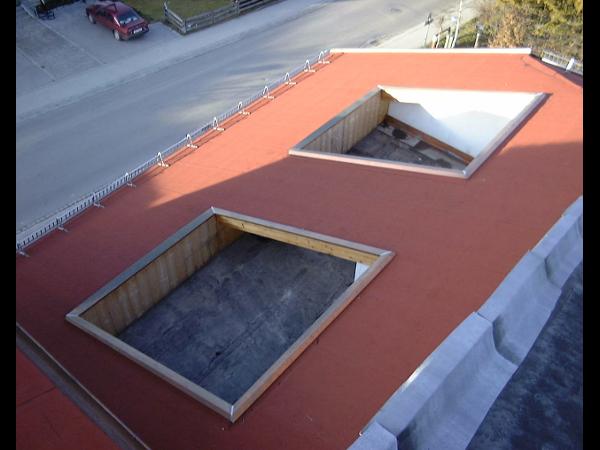 Vorschau - Dachterrasseneinfassung aus Bitumen