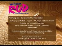 Rud Wolfgang Bodenverlegung, Schleifen, Versiegeln