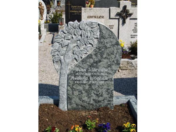 Grabmal aus Verde San Franzisko