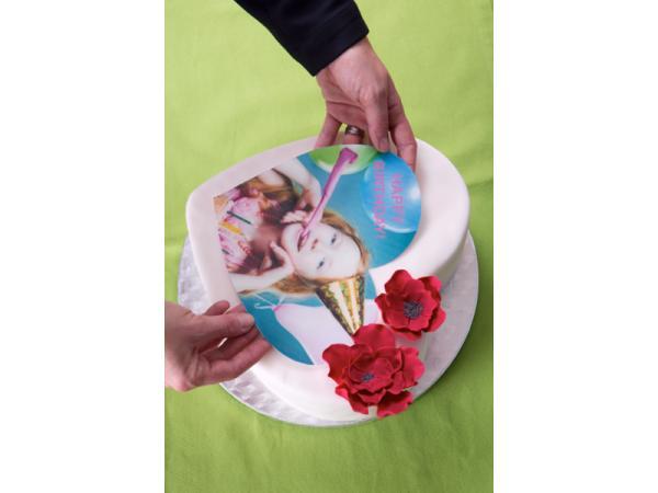Vorschau - Gerne fertigen wir für Sie Fotodrucke auf essbarem Zuckerpapier an