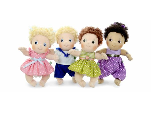 Süße, kuschelweiche Rubens Barn Puppen.