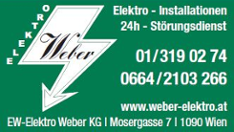 EW - ELEKTRO WEBER KG