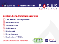 Kocer Heiztechnik ist Ihr Partner für: