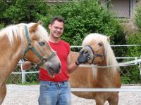Christoph mit Florian und Lilly