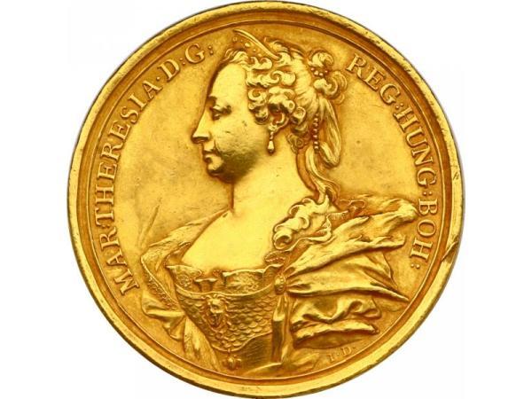Vorschau - Medaille Maria Theresia