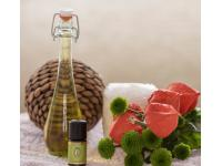 Meridiane mit Aromaölen unterstützen
