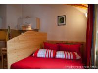 Wohnraum mit ausziehbare Couch