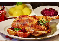 Mittagsmenüs und Gerichte á la Carte