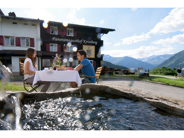 Panoramagasthof Kristberg in Silbertal im Montafon