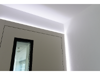 Led Beleuchtung einer Eingangstüre
