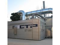 CTP Abgasreinigungsanlage: EcoTherm007®