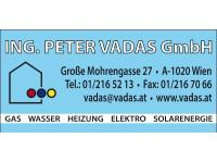 Vadas Peter Ing. GmbH Heizungs- Sanitär- u. Alternativenergie