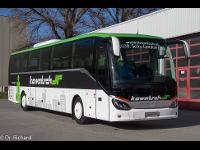 Neueste Buss im neuen Design