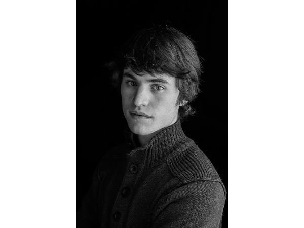 Schwarz Weis Portrait