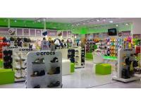 Crocs Shop Donauzentrum innen