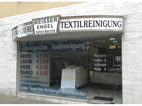 Vorschau - Textilreinigung WEISSER ENGEL - Favoriten - Foto von Textilreinigung_WEISSER-ENGEL