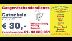 30€ Gutschein
