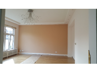 Decke und Wände malen- Nachher