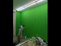 Malerarbeiten in Galerie Knoll