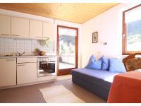 Küchenzeile mit Balkon
