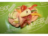 Wurst-Käse Brötchen