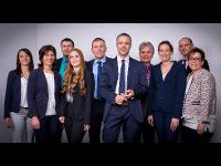 Team der Raiffeisenbank Buch