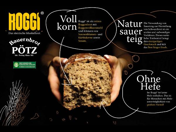 Brot Roggi Vollkornbrot